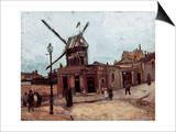 Van Gogh: La Moulin, 1886 Art by Vincent van Gogh