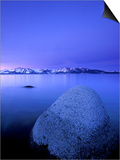 Scenic Image of Lake Tahoe, Ca. Poster by Justin Bailie