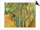 Van Gogh: Alyscamps, 1888 Prints by Vincent van Gogh