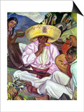 Camping Zapatistas, 1922 Posters by Fernando Leal