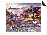 Braque: L'Estaque, 1906 Poster by Georges Braque