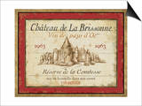 French Wine Labels I Posters by Daphne Brissonnet