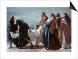 The Deposition of Christ Prints by Antonio Ciseri