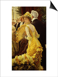 Le Bal (The Ball) Posters by James Tissot