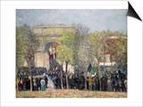 Washington Square, 1918 Prints by William James Glackens