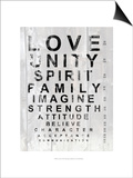 Eye Chart I Prints by Andrea James