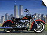 1990 Heritage Classic Harley Davidson, New York City, USA Prints