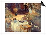Monet: Luncheon, C1873 Prints by Claude Monet