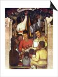 Rivera: Education, 1926 Prints by Diego Rivera