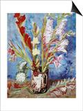 Vase with Gladioli Prints by Vincent van Gogh