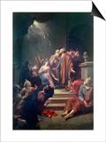 The Pentecost Print by Adriaan van der Werff