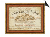 French Wine Labels II Prints by Daphne Brissonnet