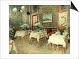 Van Gogh: Restaurant, 1887 Print by Vincent van Gogh