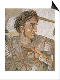 Alexander, King of Macedon, from Battle of Issus between Alexander the Great and Darius III Prints