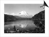 Mount St. Helens From Spirit Lake, 1923 Posters by Asahel Curtis