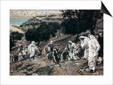Jesus Healing the Lame and the Blind Posters by James Tissot