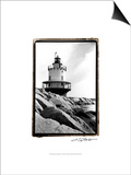 Spring Point Light, Maine I Prints by Laura Denardo