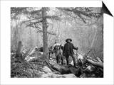 Gold Prospector Traveling For Supplies, Undated Prints by Asahel Curtis