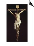 The Crucified Christ Poster by Francisco de Zurbarán