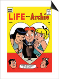 Archie Comics Retro: Life with Archie Comic Book Cover No.2 (Aged) Posters by Harry Lucey