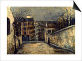 Utrillo: Mont-Cenis Poster by Maurice Utrillo