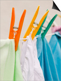 Clothes Drying on a Line Prints by Ashley Cooper