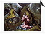 The Agony in the Garden Prints by  El Greco