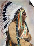 Sitting Bull (1834-1890) Prints