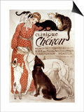 French Veterinary Clinic Posters by Théophile Alexandre Steinlen