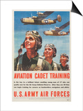 """Aviation Cadet Training: U.S. Army Air Forces"", 1943 Prints"