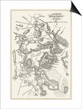 Boston: Map, 1775-1776 Art
