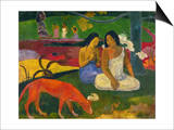 Gauguin: Arearea, 1892 Poster by Paul Gauguin