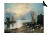 Sun Rising Through Vapor Prints by J. M. W. Turner