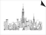 New York Skyline Crop Prints by Avery Tillmon