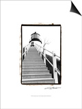 Owl's Head Light, Maine Prints by Laura Denardo