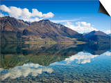 Mirror-Like Reflections on Lake Wakatipu Near Glenorchy in New Z Prints by Sergio Ballivian