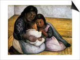 Rivera: Mother & Children Prints by Diego Rivera