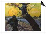Van Gogh: Sower, 1888 Prints by Vincent van Gogh