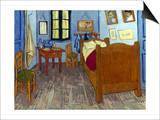 Van Gogh: Bedroom, 1889 Prints by Vincent van Gogh