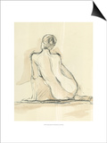 Neutral Figure Study III Posters af Ethan Harper