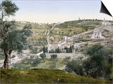 Mount Of Olives, C1900 Posters