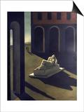 Chirico: Melancolie, 1914 Posters by Giorgio De Chirico
