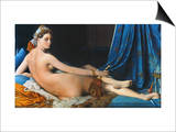 J.A.D. Ingres: Odalisque Posters by Jean-Auguste-Dominique Ingres