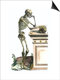 Vesalius: Skeleton, 1543 Posters by Andreas Vesalius