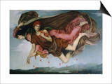 Night and Sleep Posters by Evelyn De Morgan