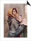 Madonna of the Poor Posters by Roberto Ferruzzi