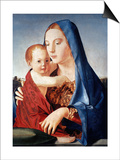 Antonello: Virgin & Child Art by  Antonello da Messina