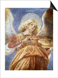 Music-Making Angel with Violin Prints by  Melozzo da Forli