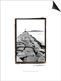 Spring Point Light, Maine II Print by Laura Denardo