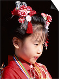 Girl Dressed in Kimono, Shichi-Go-San Festival (Festival for Three, Five, Seven Year Old Children) Prints